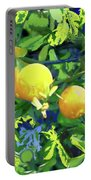 Oranges On Vine IIi Portable Battery Charger