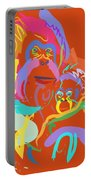 Orangutan Mom And Baby Portable Battery Charger