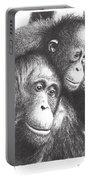 Orangutans Portable Battery Charger