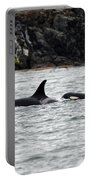 Orcas In The Salish Sea Portable Battery Charger