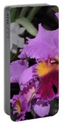 orchid 942 Purple Brassolaeliocattleya  Portable Battery Charger