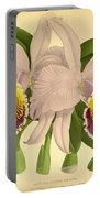 Orchid Cattleya Mossle Decora Venezuela  Portable Battery Charger