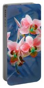Orchid Flowers 8 Portable Battery Charger