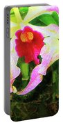 Orchid Flowers Color 1 Portable Battery Charger