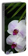 Orchids #1 Portable Battery Charger