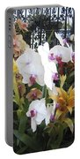 Orchids And Iron Portable Battery Charger