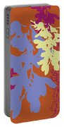 Orchids Caramel Portable Battery Charger