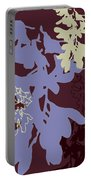 Orchids Cocoa-lavender  Portable Battery Charger