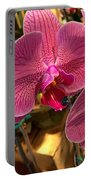 Orchids In Bloom Portable Battery Charger
