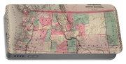 Oregon And Washington Territory Portable Battery Charger