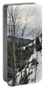 Oregon Cascade Range Trees Portable Battery Charger
