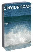 Oregon Coast Flying Seagull Portable Battery Charger