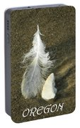 Oregon Feather Portable Battery Charger