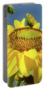 Oregon Gardens Silverton Sunflower Honeybee Baslee  Portable Battery Charger