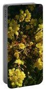 Oregon Grape Flowers Portable Battery Charger