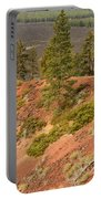 Oregon Landscape - Red Crater Portable Battery Charger