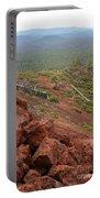 Oregon Landscape - Red Rocks At Lava Butte Portable Battery Charger