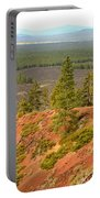 Oregon Landscape - View From Lava Butte Portable Battery Charger