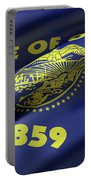 Oregon State Flag Portable Battery Charger