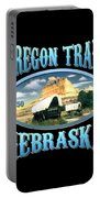 Oregon Trail Nebraska History Design Portable Battery Charger
