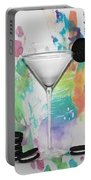 Oreo Happy Hour Watercolor Bg Portable Battery Charger