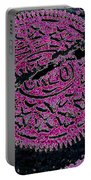 Oreo In Pink Portable Battery Charger by Nancy Mueller