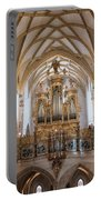 Organ Of The Gothic-baroque Church Of Maria Saal Portable Battery Charger