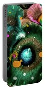 Organic Abstract 3 Portable Battery Charger