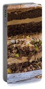 Organic Coffee And Pistachio Cake A Portable Battery Charger