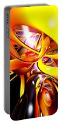 Organized Confusion Abstract Portable Battery Charger
