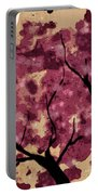 Oriental Plum Blossom Portable Battery Charger