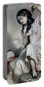 Oriental Woman At Her Toilet Portable Battery Charger