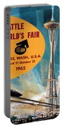 Original 1962 Seattle Worlds Fair Promotion Portable Battery Charger