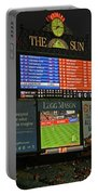 Orioles Game At Camden Yards Portable Battery Charger