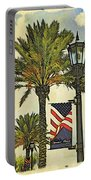 Ormond Beach Patriotic Portable Battery Charger