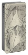 Ornament With Lilies, Herman Antonius Van Daalhoff, 1953 - 1977 Portable Battery Charger