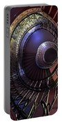 Ornamented Metal Spiral Staircase Portable Battery Charger