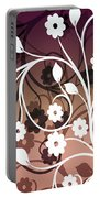 Ornametal 2 Purple Portable Battery Charger
