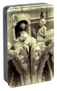 Ornate Building Frieze Portable Battery Charger
