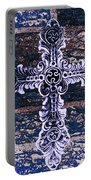 Ornate Cross 2 Portable Battery Charger