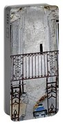 Ornate Weathered Artistic Architecture Portable Battery Charger