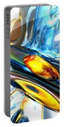 Oscillating Color Abstract Portable Battery Charger