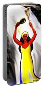 Oshun -goddess Of Love -4 Portable Battery Charger by Carmen Cordova