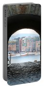 Oslo Castle Archway Portable Battery Charger by Carol Groenen