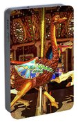 Ostrich Carousel Ride Portable Battery Charger