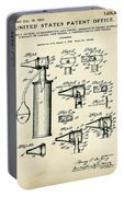 Otoscope Patent 1927 Old Style Portable Battery Charger