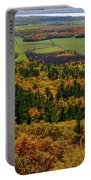 Ottawa River Valley In Fall At Tawadina Lookout At End Of Blanch Portable Battery Charger