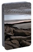 Otter Cliffs Dawn #5 Portable Battery Charger