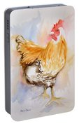 Our Buff Rooster  Portable Battery Charger