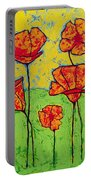 Our Golden Poppies Portable Battery Charger